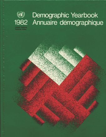 image of United Nations Demographic Yearbook 1982