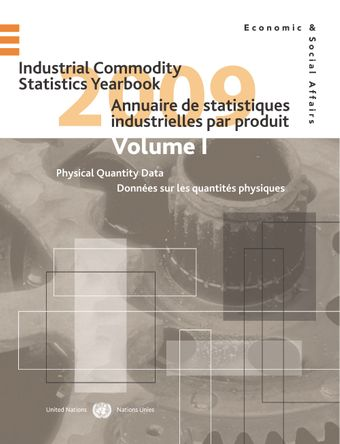 image of Industrial Commodity Statistics Yearbook 2009