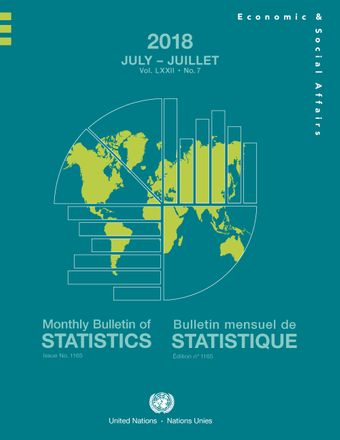 image of Monthly Bulletin of Statistics, July 2018
