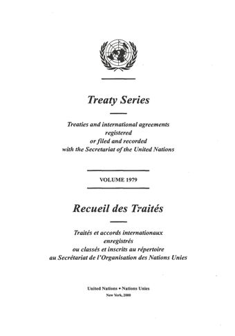 image of No. 7477. Convention on the Territorial Sea and the Contiguous Zone. Done at Geneva on 29 April 1958