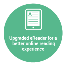 Upgraded eReader for a better onliane reading experience